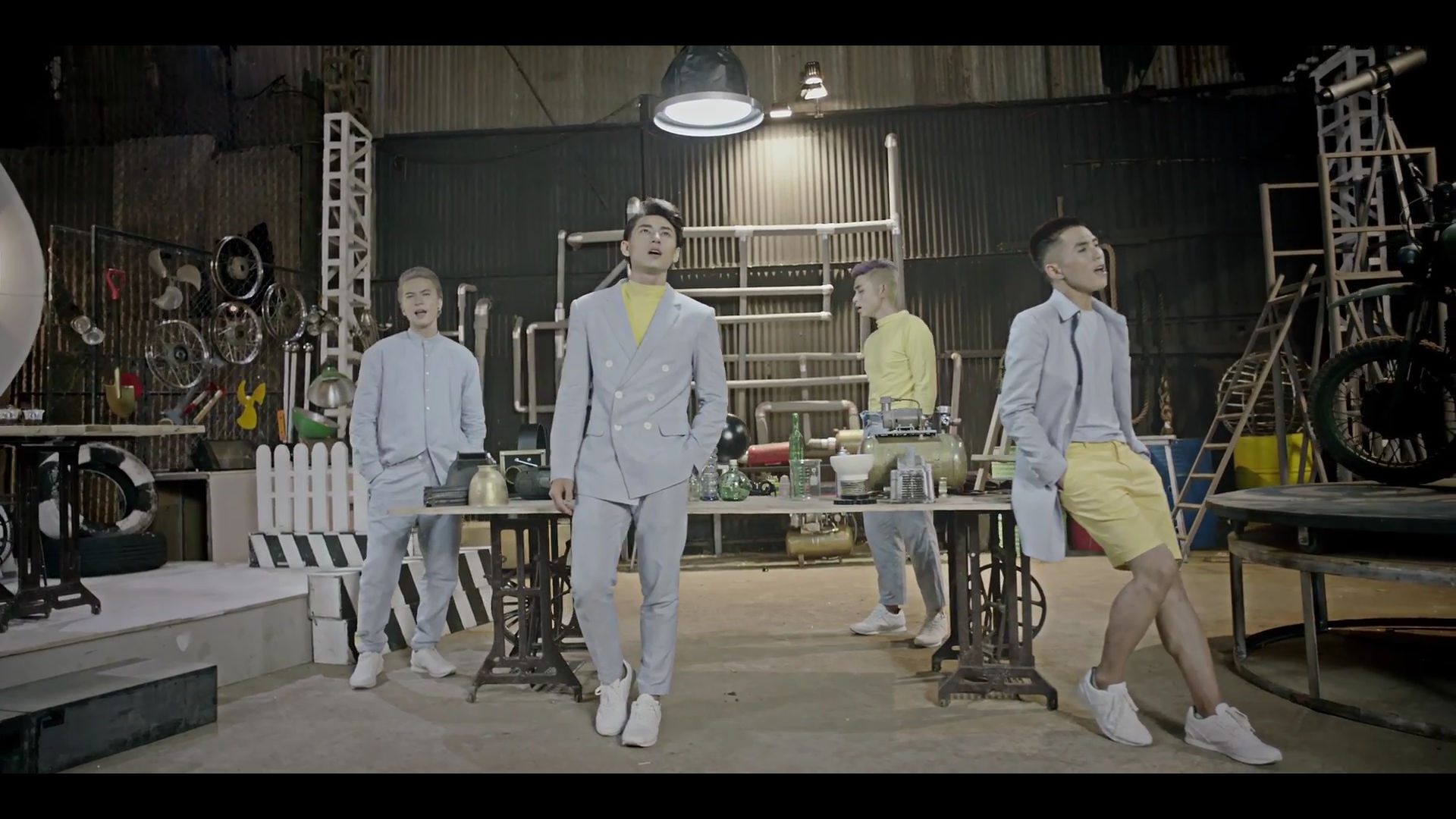 Will still refuses to wear pants in every MV.
