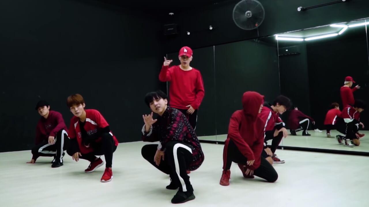 Uni5 Dance Practice